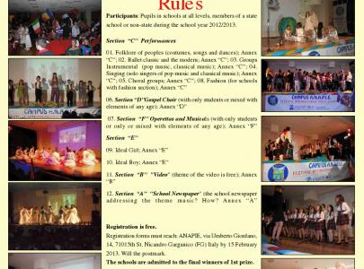 Anunturi; Informatii pentru cadre didactice