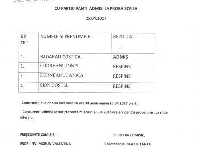 """Concurs mecanic Şcoala Gimnazială """"Constantin Gh. Marinescu"""""""